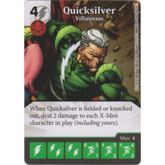 Quicksilver - Villainous (Die  & Card Combo)