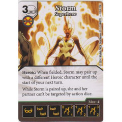 Storm - Superhero (Die  & Card Combo)