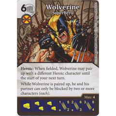 Wolverine - Superhero (Die  & Card Combo)