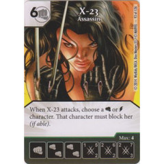 X-23 - Assassin (Die  & Card Combo)