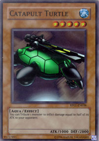 Catapult Turtle - RP01-EN038 - Super Rare - Unlimited Edition
