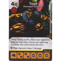 Toad - Mortimer Toynbee (Card Only)