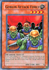 Goblin Attack Force - SD5-EN004 - Common - 1st Edition on Channel Fireball