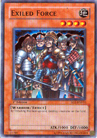 Exiled Force - SD5-EN010 - Common - 1st Edition