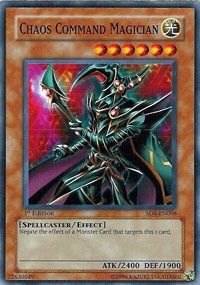 Chaos Command Magician - SD6-EN008 - Common - 1st Edition