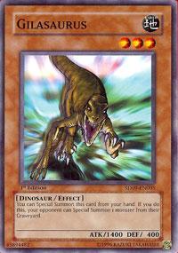 Gilasaurus - SD09-EN005 - Common - 1st Edition