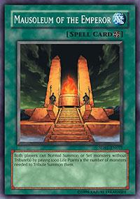 Mausoleum of the Emperor - SDRL-EN031 - Common - 1st Edition