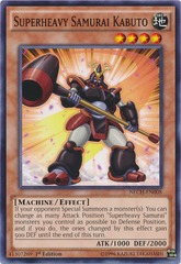 Superheavy Samurai Kabuto - NECH-EN008 - Common - 1st Edition