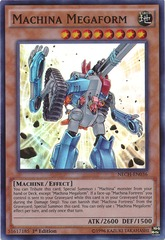 Machina Megaform - NECH-EN036 - Super Rare - 1st Edition