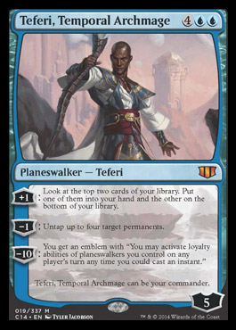 Teferi, Temporal Archmage (Oversized)