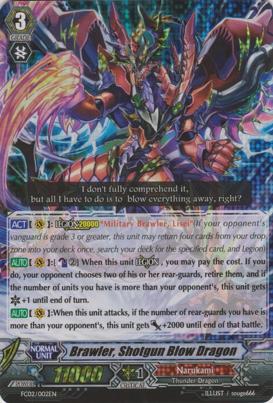 Brawler, Shotgun Blow Dragon - FC02/002EN - RRR