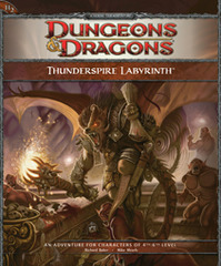 4th Edition - Thunderspire Labyrinth (Good)