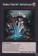 Noble Knight Artorigus - NKRT-EN003 - Platinum Rare - Limited Edition on Channel Fireball