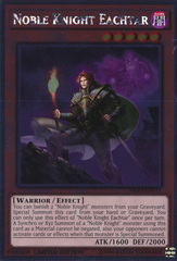 Noble Knight Eachtar - NKRT-EN011 - Platinum Rare - Limited Edition