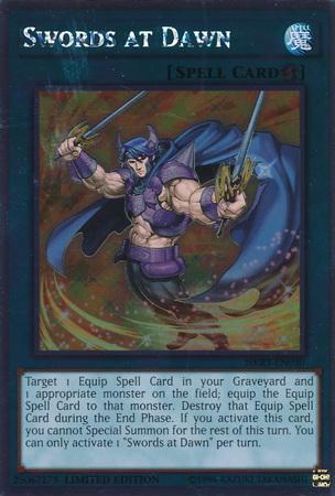 Swords at Dawn - NKRT-EN030 - Platinum Rare - Limited Edition