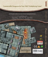 DU1 Halls of the Giant Kings: Dungeon Tiles