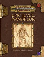 D&D 3E - Epic Level Handbook 88169 HC