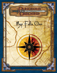 Dungeons & Dragons Map Folio I