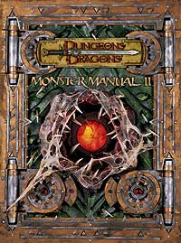 monster manual ii dungeons dragons d d 3rd 4th edition d d rh challengesgames com Monster Manual Skulls Monster Manual 4th Edition 3