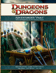 4th Edition Adventurer's Vault