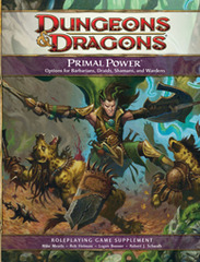 D&D 4E Primal Power