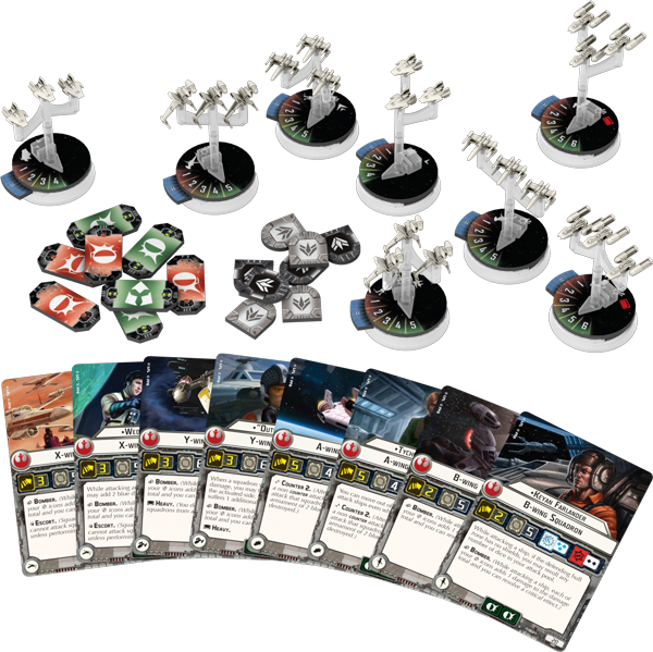Star Wars Armada: Rebel Fighter Squadrons Expansion Pack