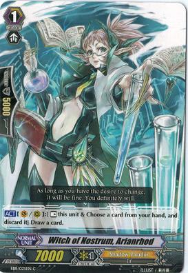 Witch of Nostrum, Arianrhod - EB11/025EN - C