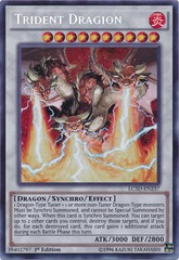Trident Dragion - LC5D-EN237 - Secret Rare - Unlimited Edition