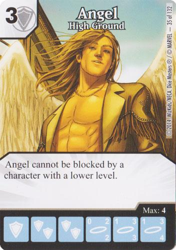 Angel - High Ground (Die & Card Combo)