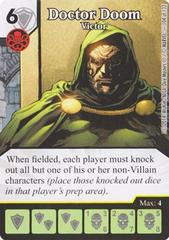 Doctor Doom - Victor (Die & Card Combo)