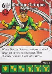 Doctor Octopus - Megalomaniac (Die & Card Combo)