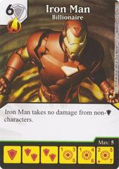 Iron Man - Billionaire (Die & Card Combo)