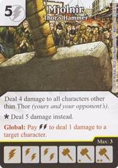 Mjolnir - Thor's Hammer (Die & Card Combo)