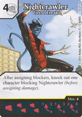 Nightcrawler - Circus Freak (Die & Card Combo)