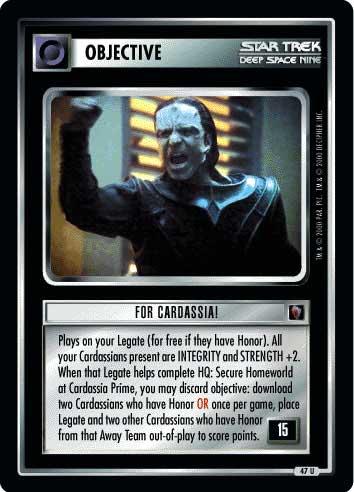 For Cardassia!