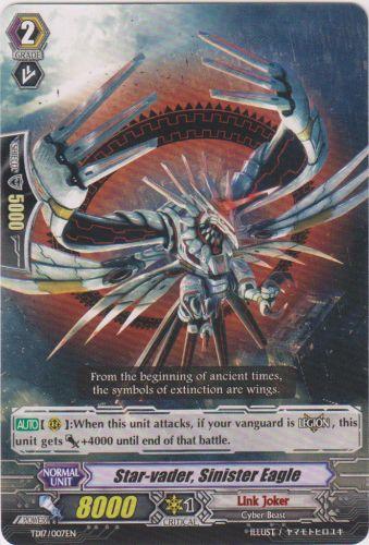 Star-vader, Sinister Eagle - TD17/007EN - TD