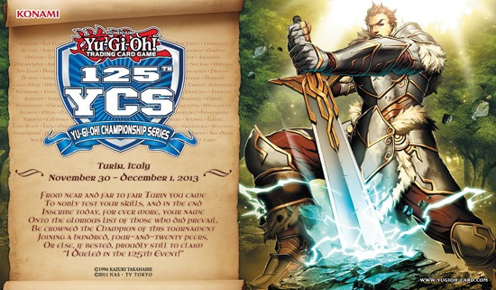 125th YCS Participation (Turin, Italy): Noble Knight Artorigus Playmat
