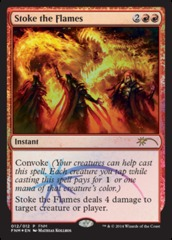Stoke the Flames - Foil FNM 2014