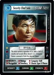 Security Chief Sulu