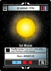 Test Mission