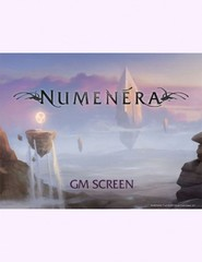 Numenera Content for Hammerdog GM Screen
