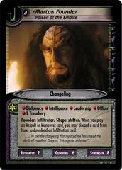 Martok Founder, Poison of the Empire