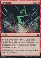 Fireblast on Channel Fireball