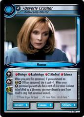 Beverly Crusher, Battleship Doctor