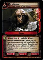 Gowron, Sole Leader of the Empire - Reprint