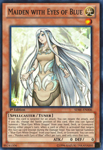 Maiden with Eyes of Blue - SDBE-EN006 - Super Rare - Unlimited Edition