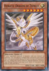 Hieratic Dragon of Tefnuit - SDBE-EN010 - Common - Unlimited Edition