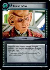 Quark's Advice