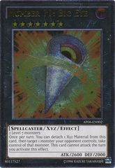 Number 11: Big Eye - AP06-EN002 - Ultimate Rare - Unlimited Edition on Channel Fireball
