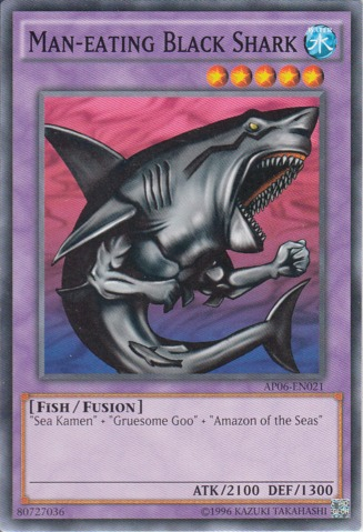 Man-Eating Black Shark - AP06-EN021 - Common - Unlimited Edition